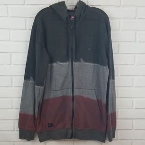 Quiksilver Cotton Blend Full Zip Hoodie